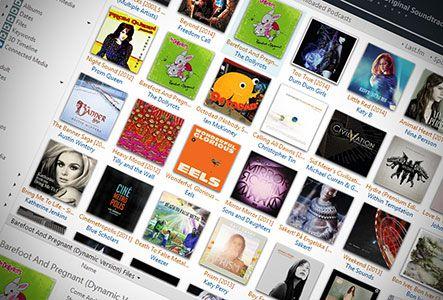 Modern Cards JRiver Media Center Skin